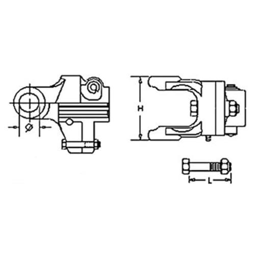 A&I Products 9003883 Shear Bolt Clutch - image 1