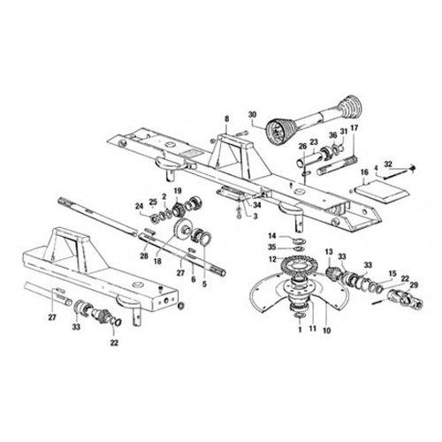 A&I Products W088397 Universal Joint Assembly G 2200